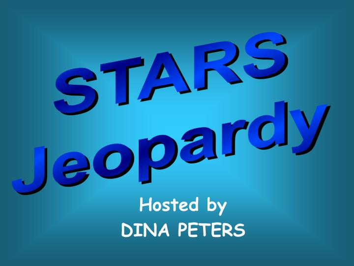 Hosted by dina peters