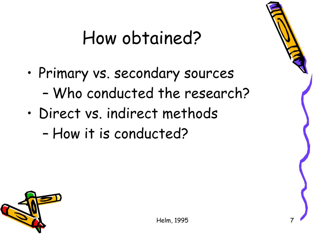 How obtained?