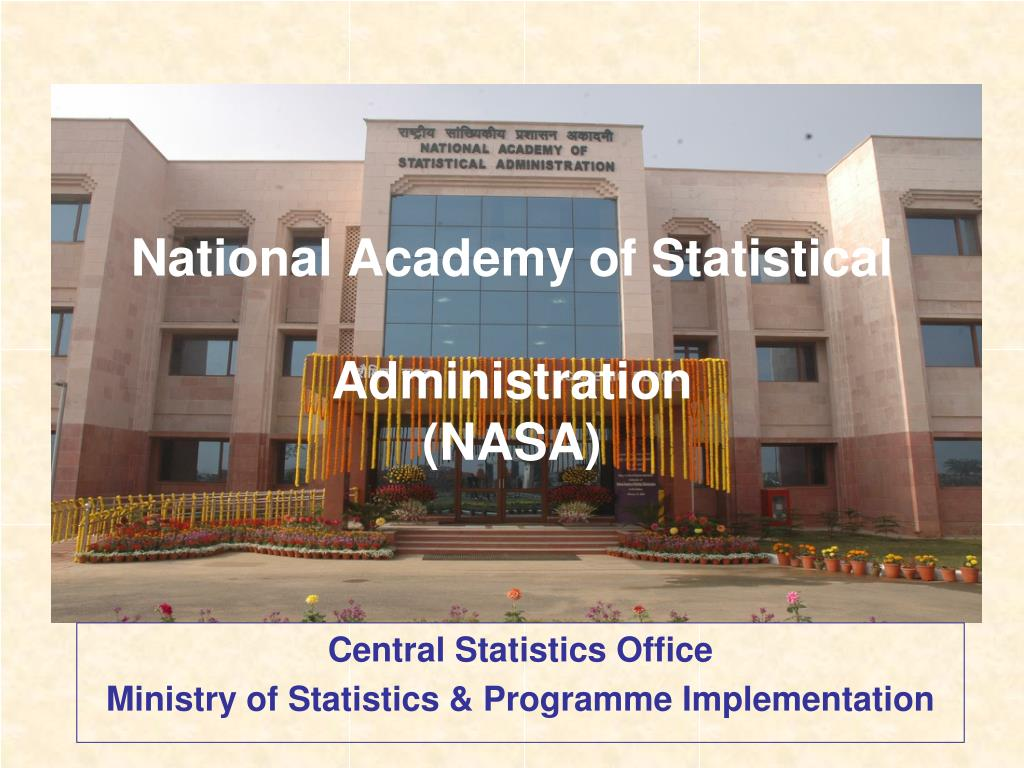 national academy of statistical administration nasa l.