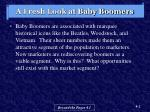 a fresh look at baby boomers