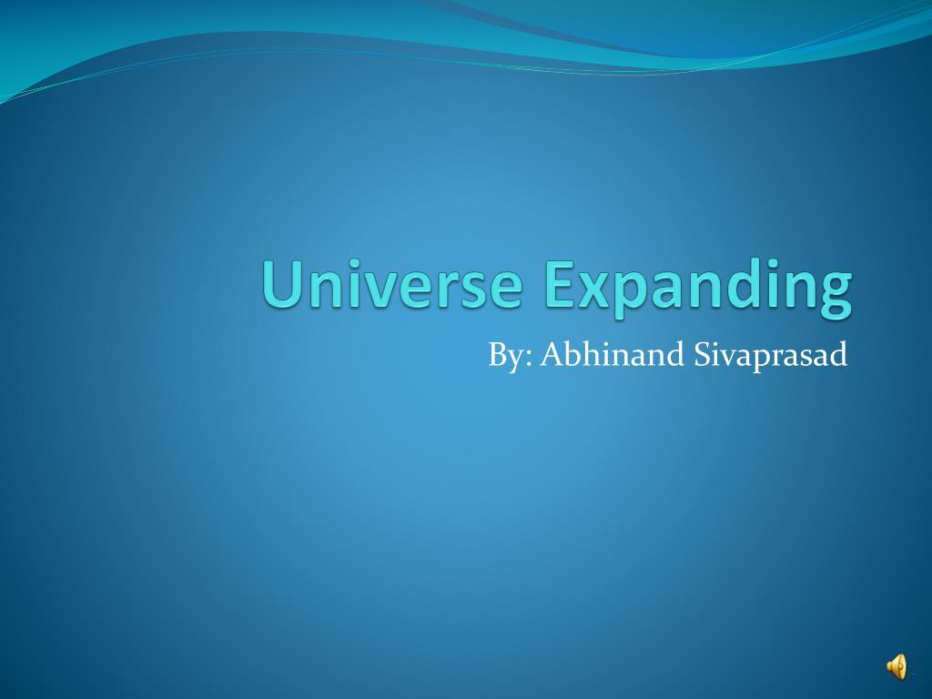 universe expanding l.
