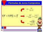 f rmulas de juros compostos