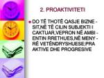 2 proaktiviteti