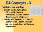 da concepts 3