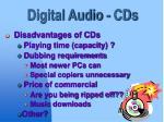 digital audio cds9