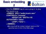 basic embedding 2