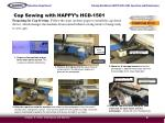 cap sewing with happy s hcd 15016