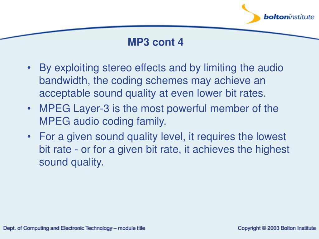 MP3 cont 4