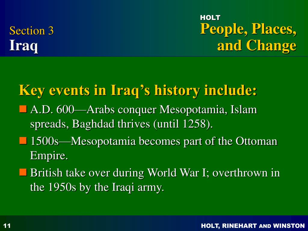 PPT - The Arabian Peninsula, Iraq, Iran, and Afghanistan PowerPoint