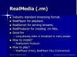 realmedia rm