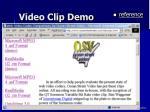 video clip demo57