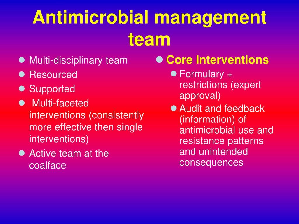 Multi-disciplinary team