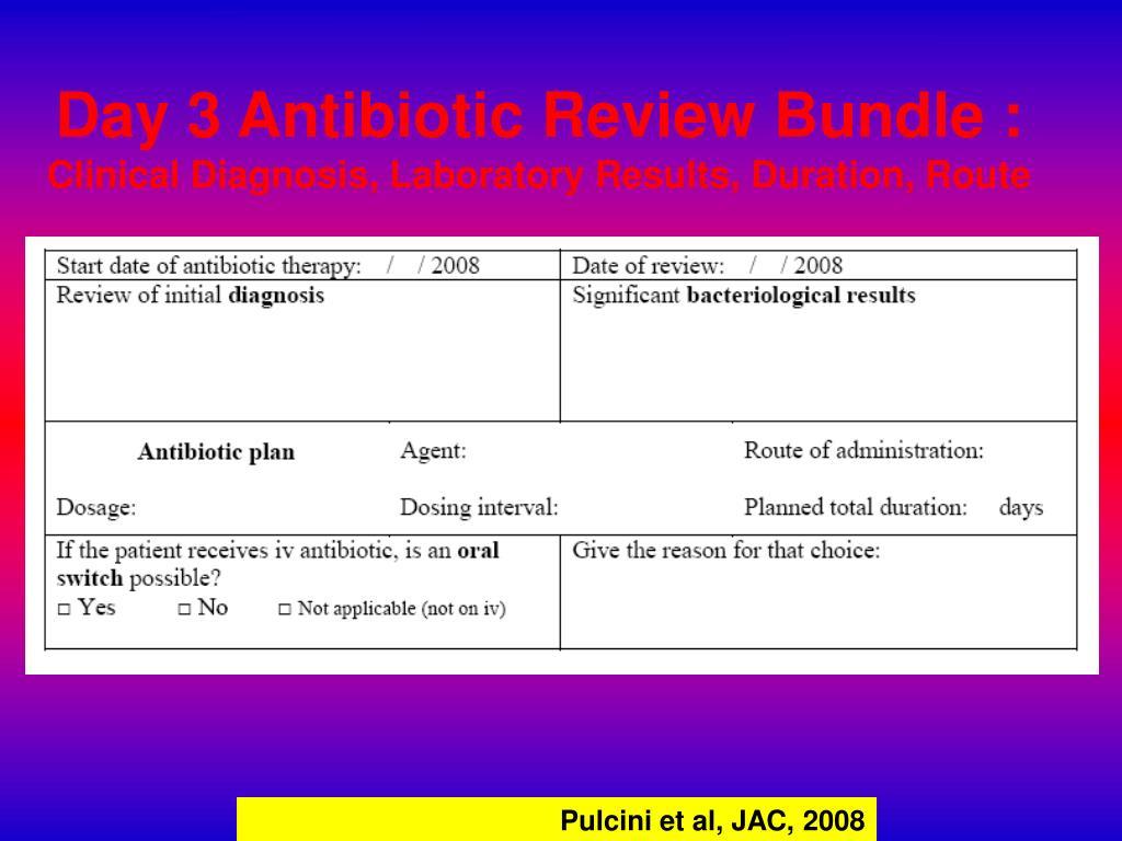 Day 3 Antibiotic Review Bundle :