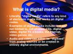 what is digital media