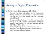 analog to digital conversion12