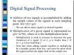 digital signal processing18