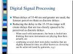 digital signal processing21