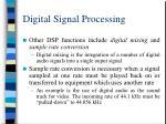 digital signal processing28