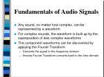 fundamentals of audio signals3