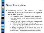 noise elimination26