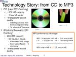 technology story from cd to mp3