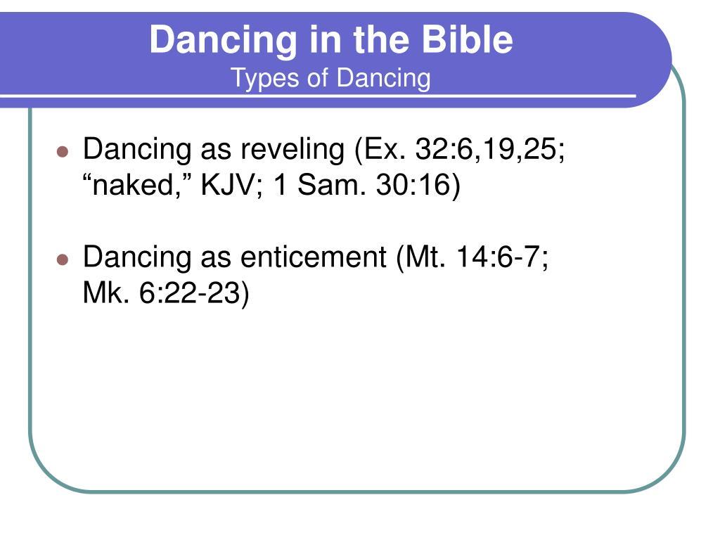 Dancing in the Bible