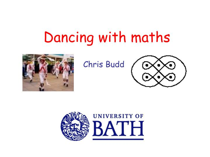 Dancing with maths