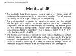 merits of db