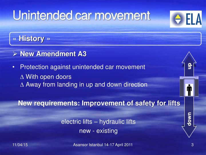 history of safety movement