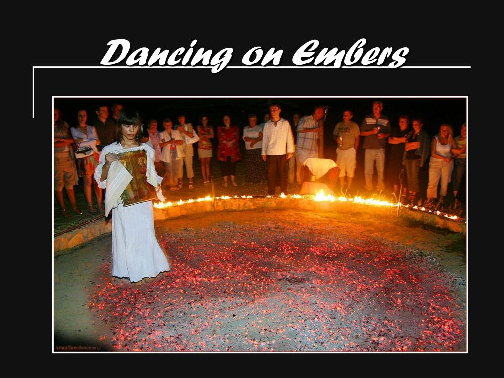 dancing on embers l.