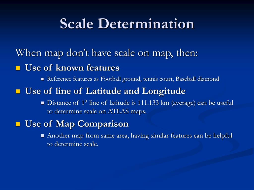 Scale Determination