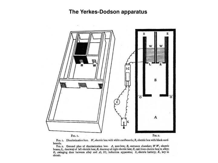 The Yerkes-Dodson apparatus