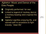 agbekor music and dance of the ewe people
