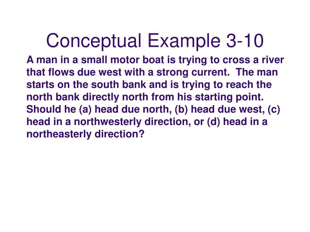 Conceptual Example 3-10