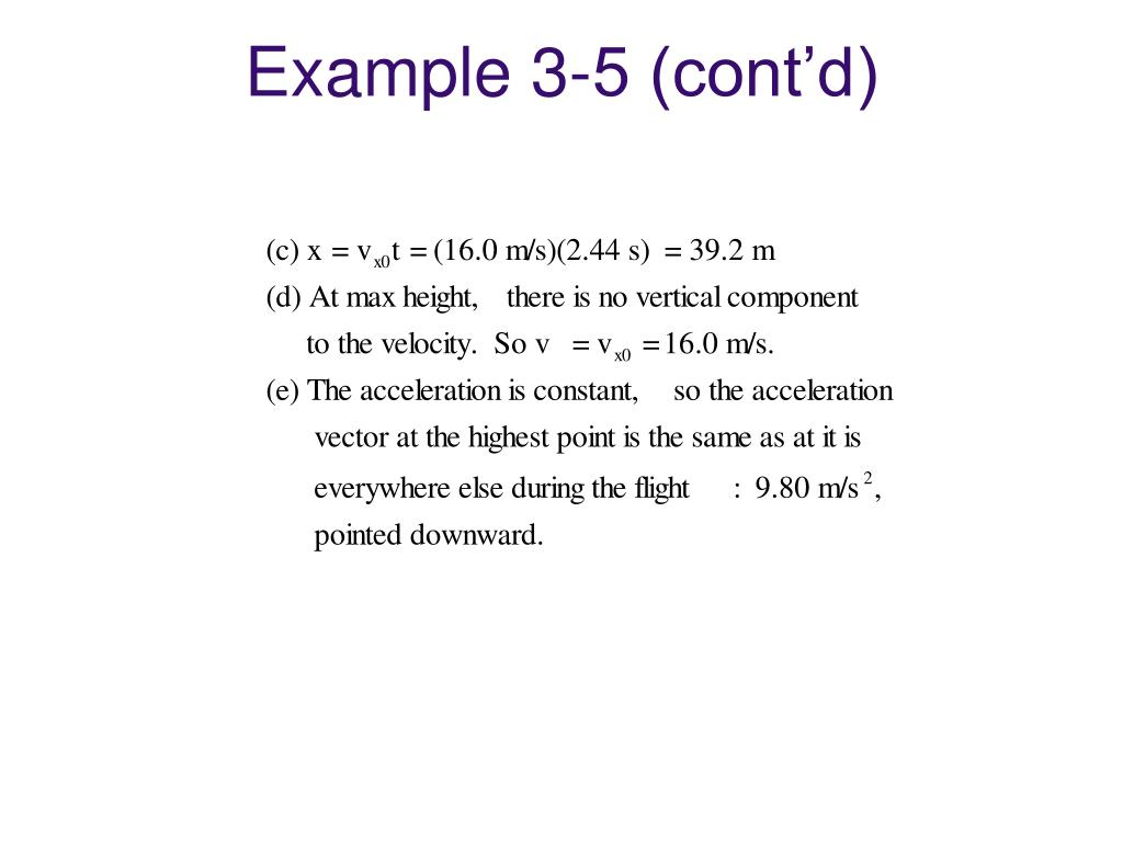 Example 3-5 (cont'd)
