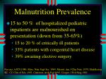 malnutrition prevalence
