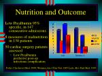 nutrition and outcome1