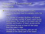 operational environmental standards10