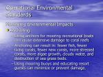 operational environmental standards14