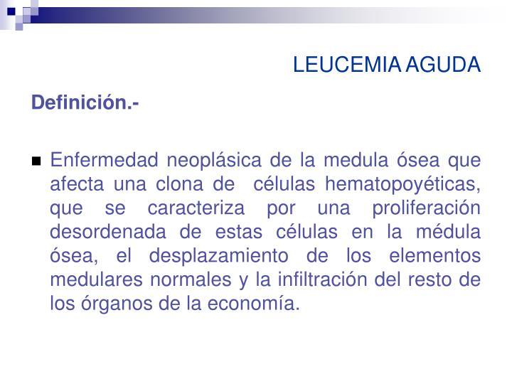 Leucemia aguda1