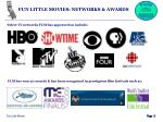 fun little movies networks awards