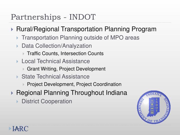 Partnerships - INDOT