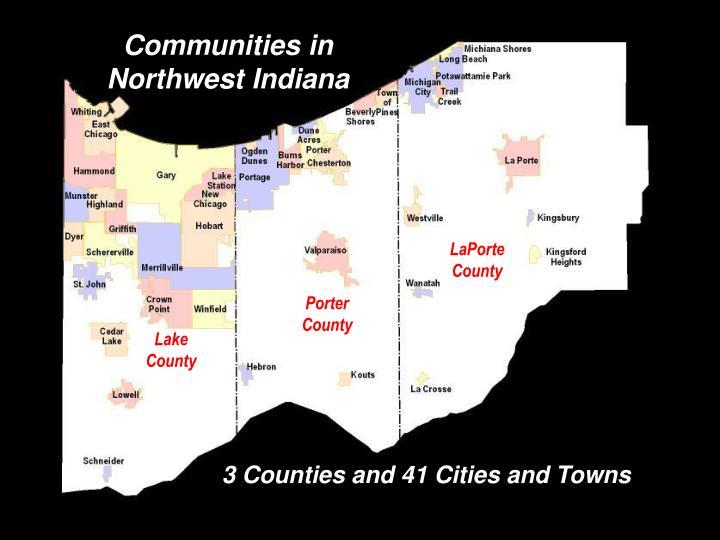 Communities in Northwest Indiana