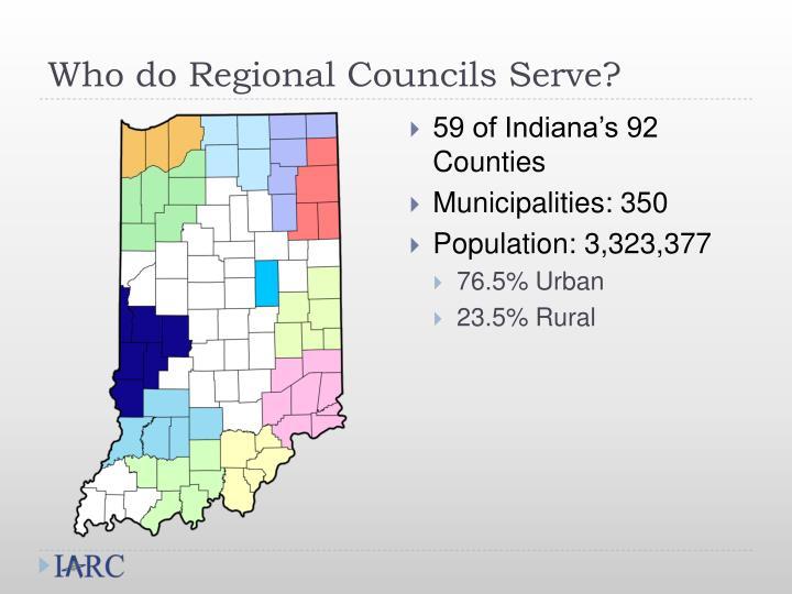 Who do Regional Councils Serve?