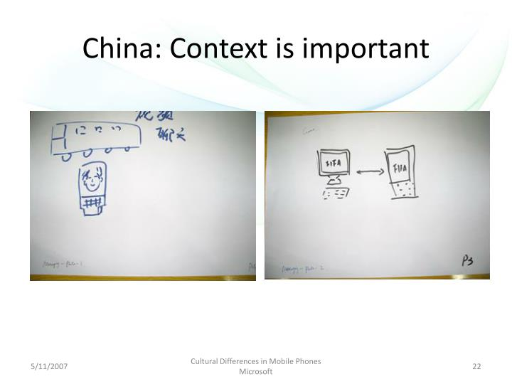 China: Context is important