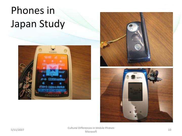 Phones in