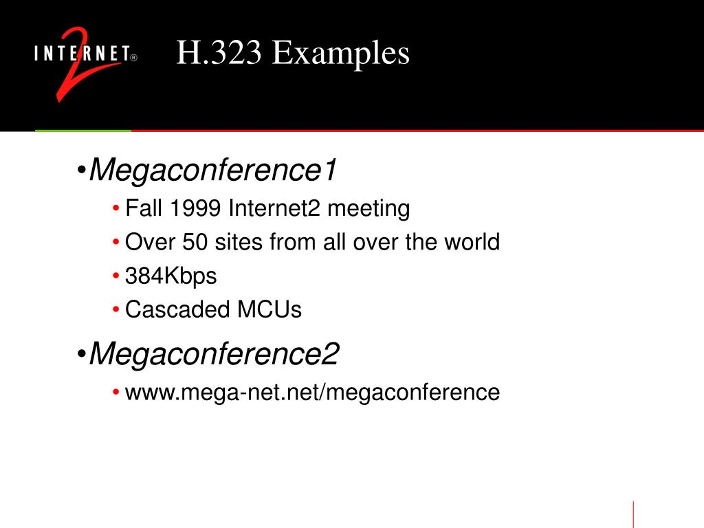 H.323 Examples