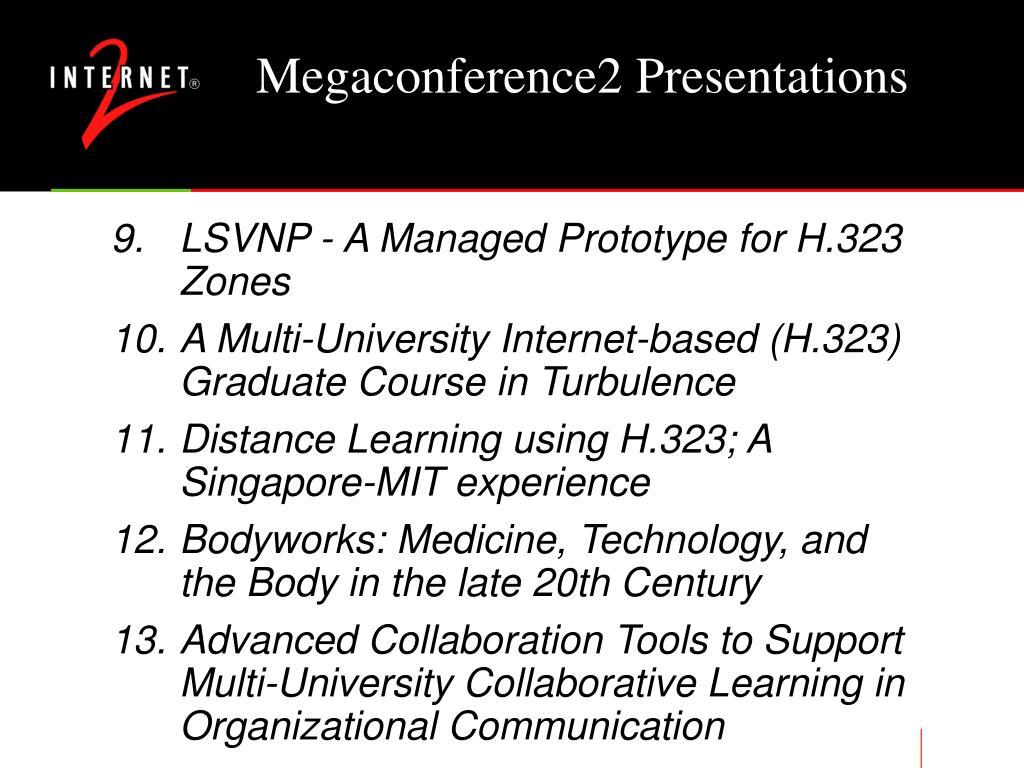 Megaconference2 Presentations
