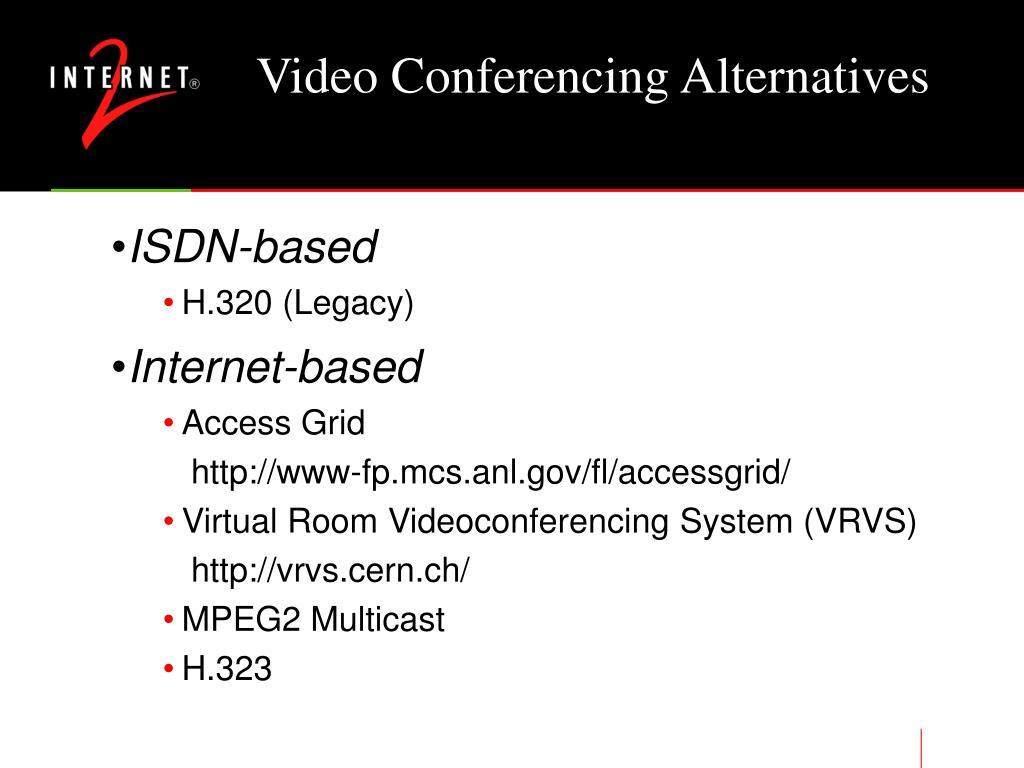 Video Conferencing Alternatives