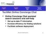 technet online concierge chat